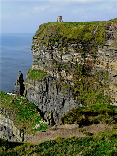 Cliffs of Moher - O'Briens Tower - Vertical Orientation