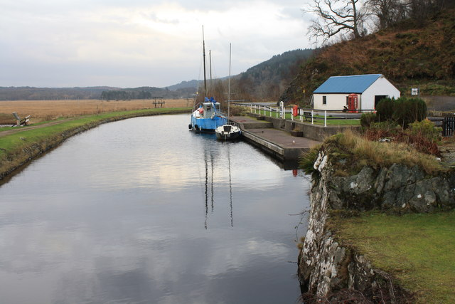 Crinan canal near Bellanoch