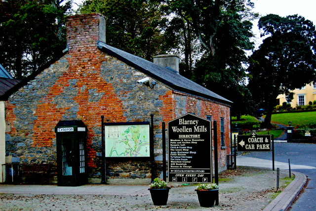 Bunratty - Grey Stone & Red Brick Building and Village & Blarney Mills Directories