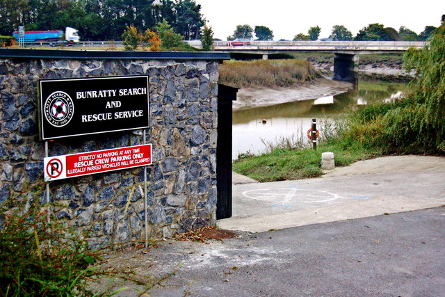 Bunratty - Search & Rescue Service along Owengarney River