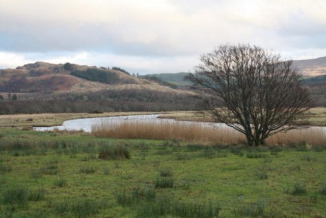 Rough ground at Ceann Loch Caolisport