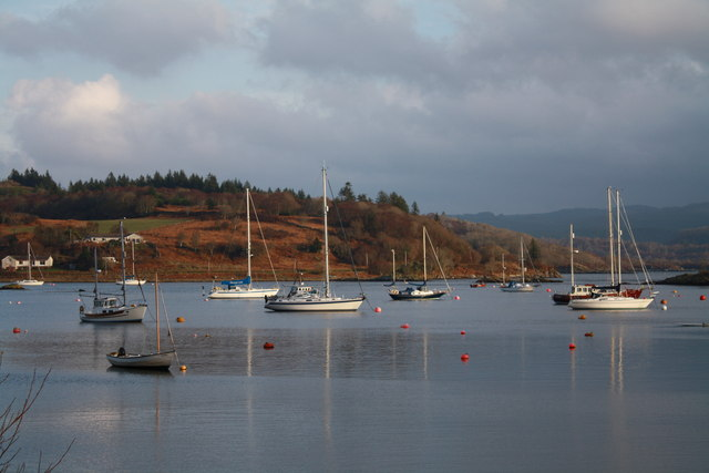Boats at Tayvallich