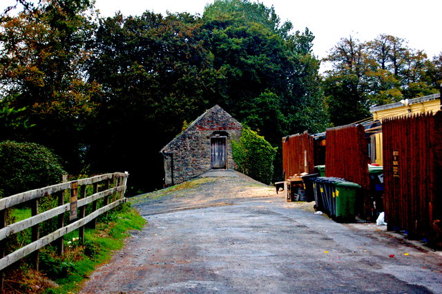 Bunratty - Access Road to Derelict Bunratty Church & Graveyard