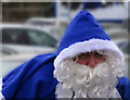 SJ3593 : The blue Santa : Week 51