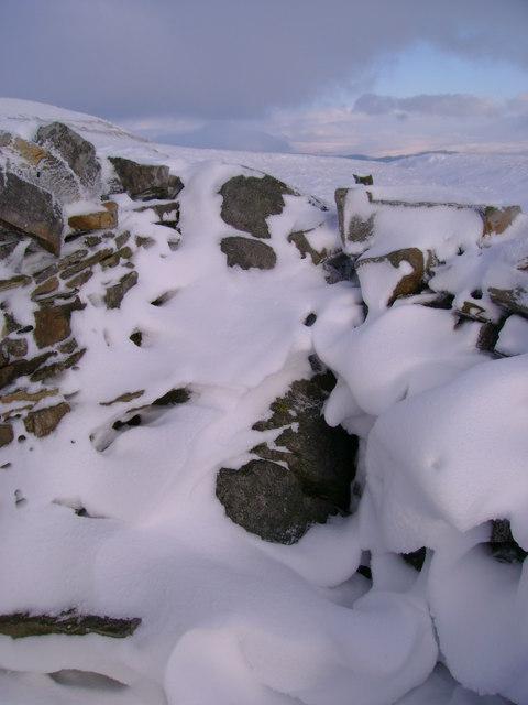 Snow-clad County Stone