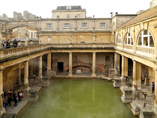 The Roman Baths - The Great Bath © David Dixon cc-by-sa/2.0 ...