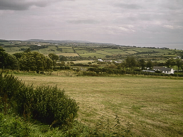 A view from Cruckglass towards Lough Foyle