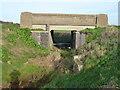 TF1906 : Slip Bridge and Catchwater Drain by Richard Humphrey