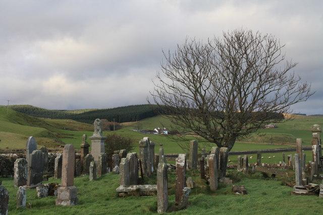 Kilchousland graveyard