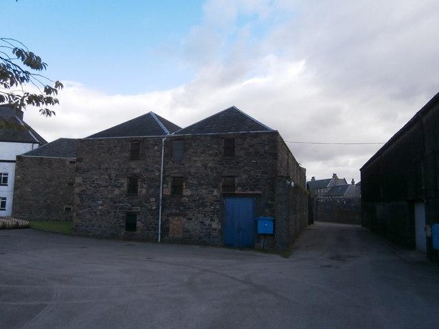 Glen Scotia warehouses