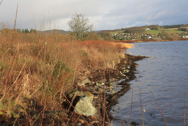 Foreshore near Ardrishaig