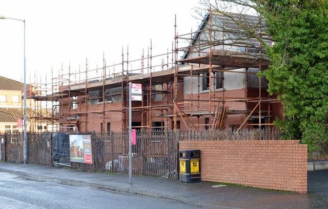 Palmerston housing site, Belfast (5 in 2013)