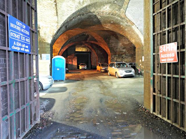 arches under glasgow central railway     u00a9 thomas nugent
