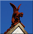 SP2054 : A Dragon Gargoyle on Wood Street : Week 52(part1)