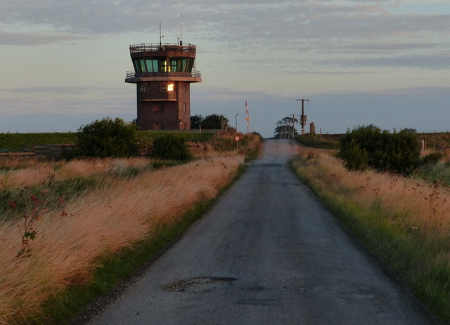 Control tower along Sea Lane
