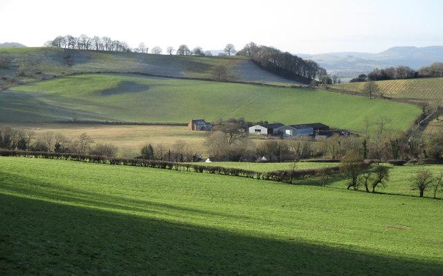 Fields around Lower Dinchope
