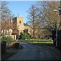 TL4262 : Girton: Church Lane and St Andrew's Church : Week 1