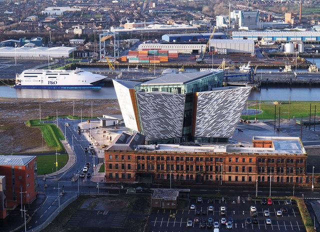 'Titanic Belfast' from 'Samson'