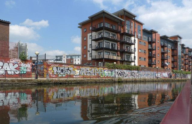 Lambda Court apartment block, Salford
