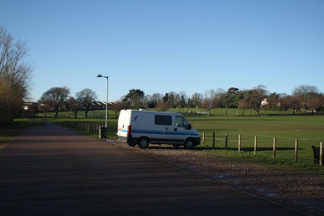 Car Park at Normanston Park