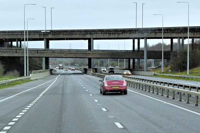 Almondsbury United Kingdom  city images : st6183 almondsbury interchange from m5 near to almondsbury south ...