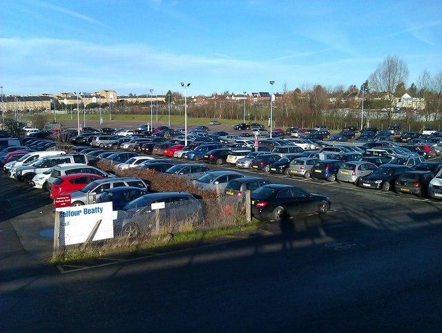 Car Park Colchester Town Centre