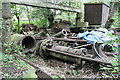 SK2999 : Wortley Top Forge - dismantled mill engines by Chris Allen