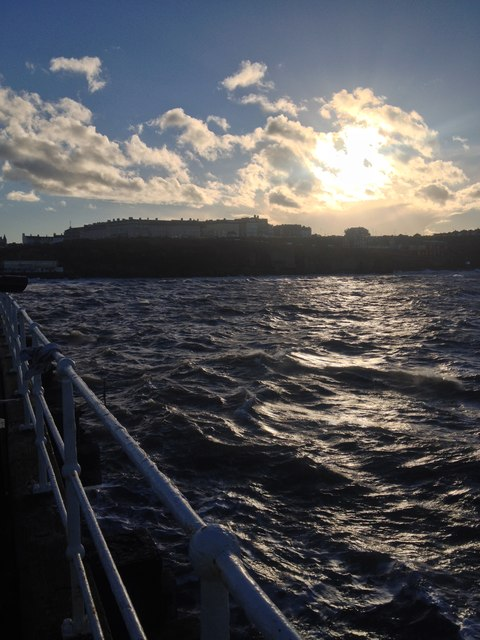 Whitby, from the North Pier