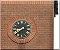 J3368 : Clock, Belvoir, Belfast by Albert Bridge