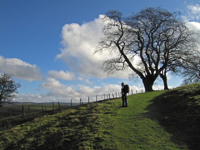 Walker on The Shropshire Way