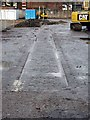 SJ4166 : Old Tram Lines on Crewe Street development site by Jeff Buck