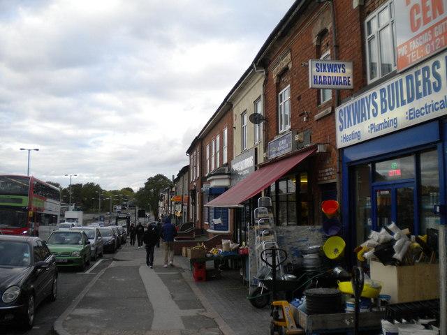 Shops on Birchfield Road, Aston