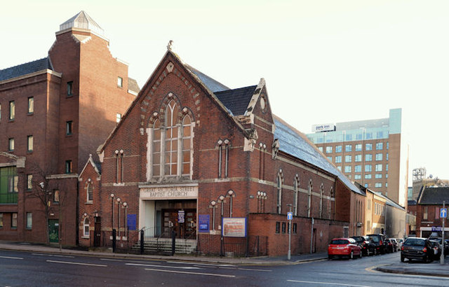 Gt Victoria Street Baptist Church, Belfast - January 2014 (1)