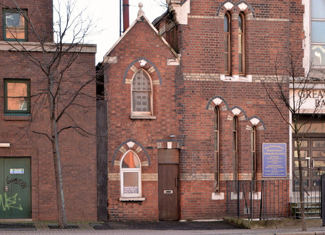 Gt Victoria Street Baptist Church, Belfast - January 2014 (3)