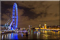TQ3079 : London Eye, London, SE1 by Christine Matthews
