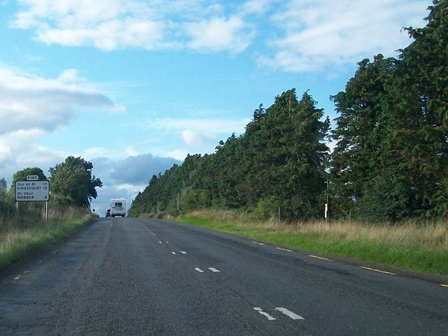 The R162 between Castletown Cross Roads and Cross Guns Bar and Lounge