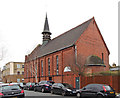 TQ3475 : St Andrew's Mission Church, Waghorn Street by John Salmon