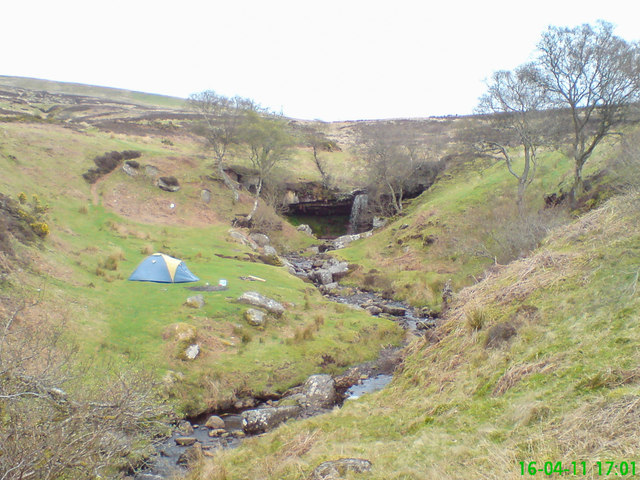 Glen Burn Waterfall