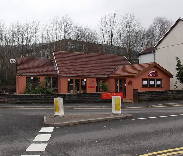 Coffee shop, takeaway and letting agency in Treforest
