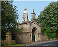 ST7367 : Gateway and Beckford's Tower near Lansdown by Stephen Richards