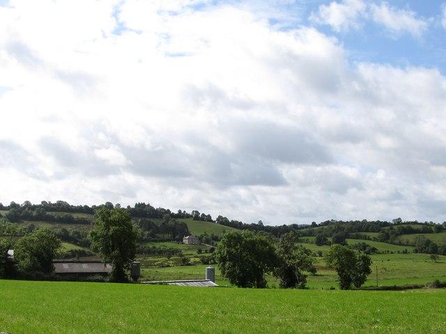 Rural settlement west of Corraneary Cross Roads