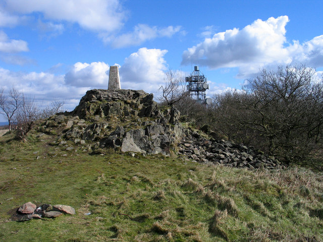 Summit Area Of Bardon Hill 169 Trevor Littlewood Cc By Sa 2