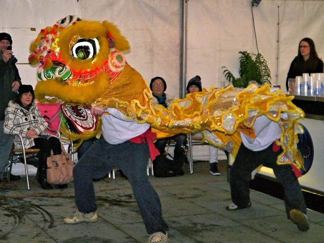 Lion Dancing Ireland Chinese New Year Lion Dance
