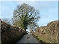 SU8186 : Lane towards Bockmer End by Robin Webster