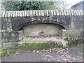 SE0636 : Water Trough - Halifax Road by Betty Longbottom