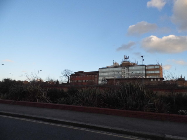 Offices by the A12 from Kingswood Road, Leytonstone