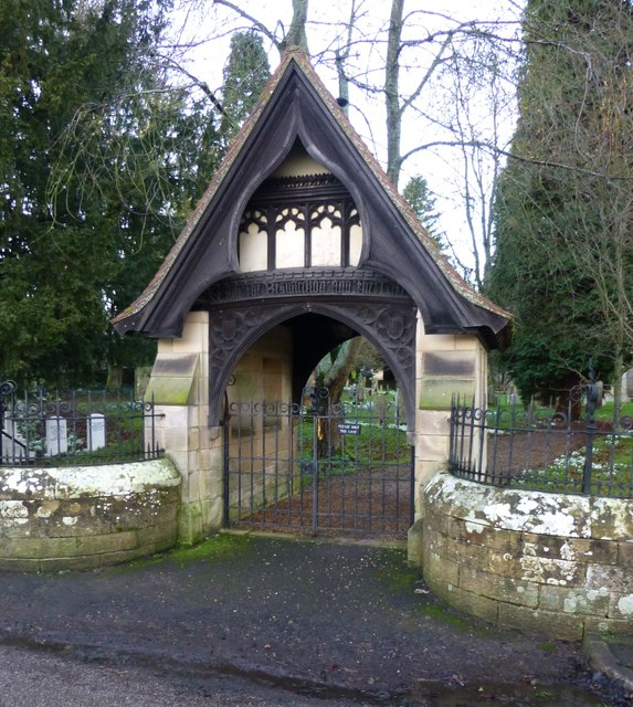 Lych Gate to Church of St. Mary, Mitford