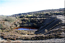 SW7542 : Disused Tailings Pool, Poldice Valley by Graham Loveland