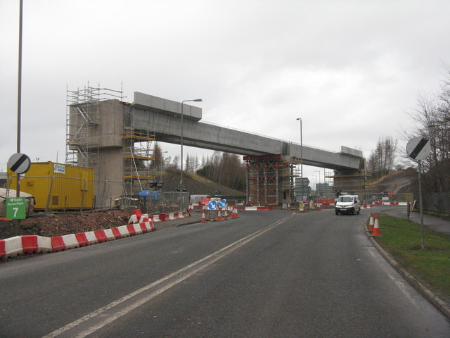 New bridge for the Borders Railway
