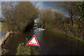 SU4921 : River flowing down Hensting Lane by Peter Facey
